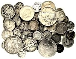 US SILVER COINS & BARS